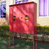 Caixa para mangueiras de incêndio