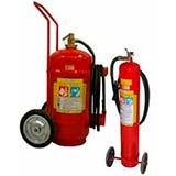 Extintores de pó químico seco